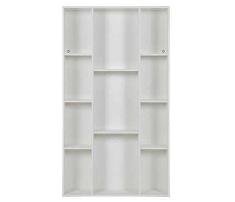 WOOOD Briefkasten Flynn weiße Kiefer 83x17x147,5cm