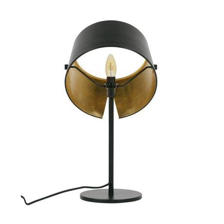 WOOOD Tafellamp Pien zwart metaal Ø28x53cm