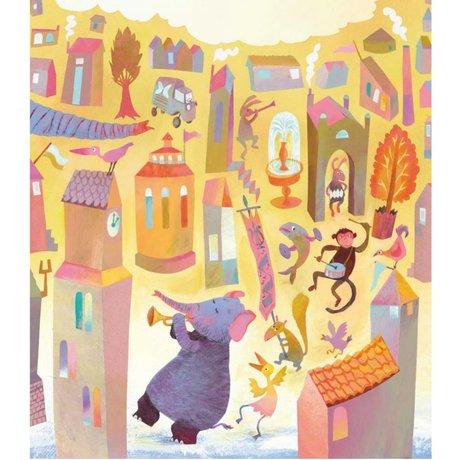 KEK Amsterdam Wallpaper Parade multicolor non-woven paper 243.5 x 280 (5 sheets)
