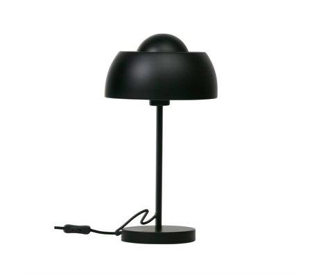 WOOOD Lampe de table Yvet métal noir Ø24x45cm