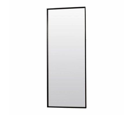 Housedoctor Spiegel Pro zwart houten frame 80x200x4,8cm