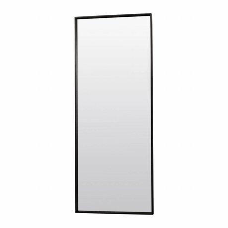 Housedoctor Spiegel Pro zwart houten frame 80x200cm
