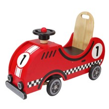 I'm Toy Race car houten loopfiets