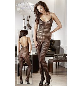 Mandy mystery Line Grof-net catsuit