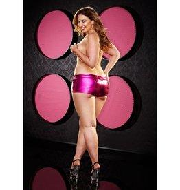 Lapdance Lingerie Twerk It Short - Plus Size - Roze