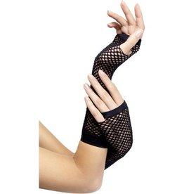 Fever Zwarte visnet handschoenen