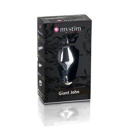 Mystim Giant John - Mystim e-stim buttplug