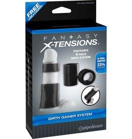 Fantasy X-tensions Fantasy X-tensions Girth Gainer System Black
