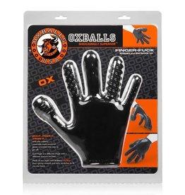 Oxballs Finger Fuck Handschoen - Zwart