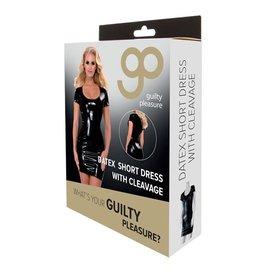 Guilty Pleasure GP Datex Mini Jurkje Met Korte Mouwen - Zwart
