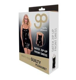 Guilty Pleasure GP Datex Mini Jurkje Met Rits - Zwart
