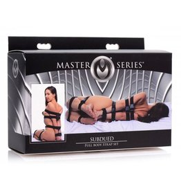 Master Series Subdued 7-Delige Bondageriemen Set