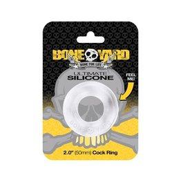 Boneyard Ultimate Silicone Ring - Transparant