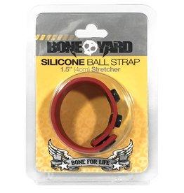 Boneyard Ball Strap - Rood