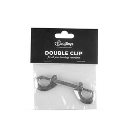 Easytoys Fetish Collection Dubbele Clip - Zilver