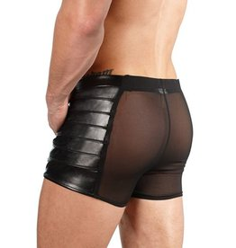 Svenjoyment Underwear Kunstleren Boxer Met Netstof