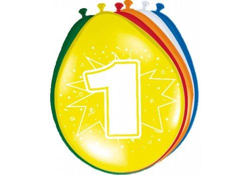 Ballonnen 1 jaar (8st)