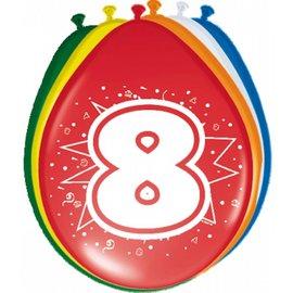 Ballonnen 8 jaar (8st)