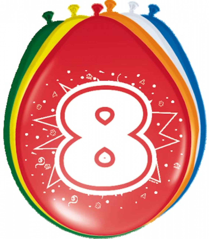 8 jaar Kinderfeestje; 8 jaar   Knalfuif Kinderfeestjes 8 jaar