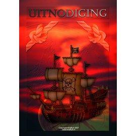 Uitnodigingen Piraat (8st)
