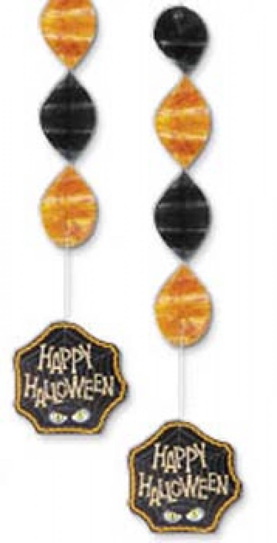 Halloween feestversiering knalfuif kinderfeestjes for Hangdecoratie raam