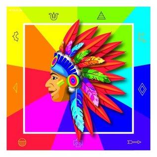 Indianen Servetten
