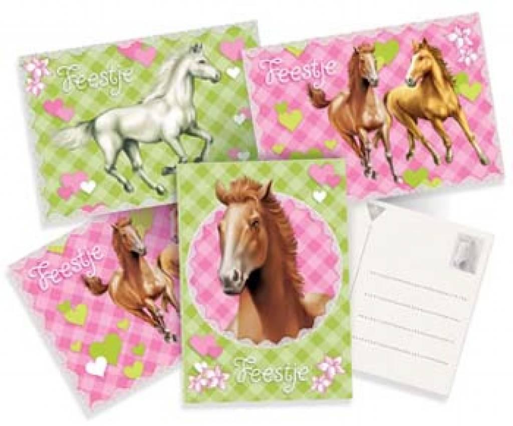 Paarden Slaapkamer : Uitnodigingen Paard - Feestwinkel Vleuten