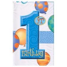Tafelkleed Blue balloons
