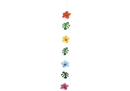 Hangdecoratie Tropische bloemen