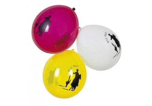 Ballonnen cowboy (6st)