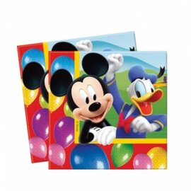 Servetten Mickey Mouse (20st)