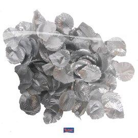 Zakje rozenblaadjes (zilver)