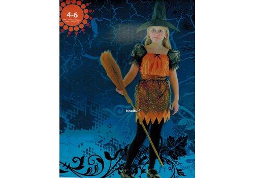 Heksenjurk (oranje) (4-6 jaar)