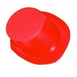 Showbizz hoedje (rood)