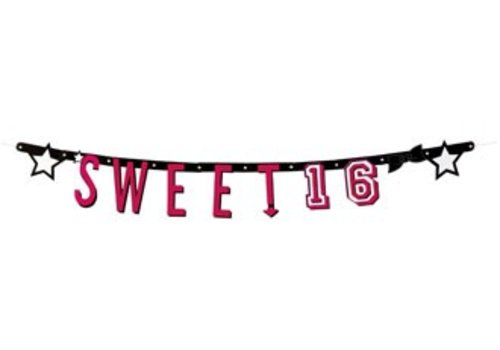 Letterslinger Sweet Sixteen (120cm)