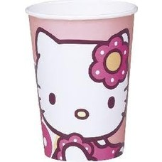 Bekers Hello Kitty (10st)