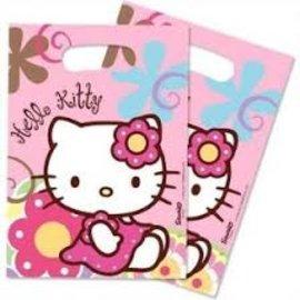 Feestzakjes Hello Kitty (6st) OP=OP