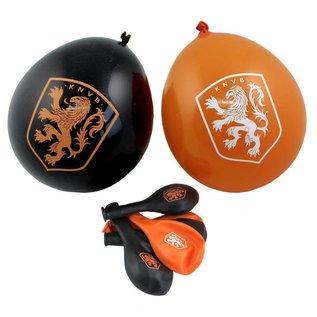 Oranje feestartikelen - ballonnen KNVB (8st)