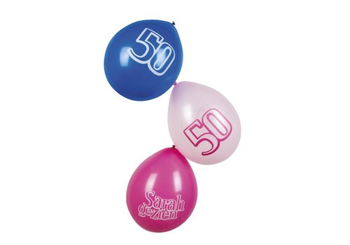 Ballonnen Sarah (6st)