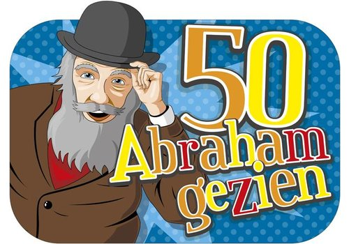 deur/muurdecoratie Abraham gezien (XL)