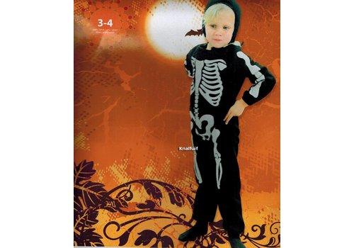 Skelettenpakje (3-4 jaar) Op=OP