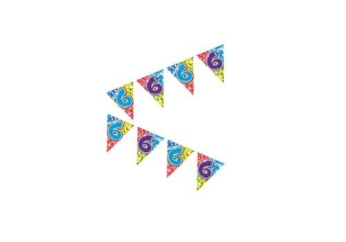 mini vlaggenlijn 6 jaar