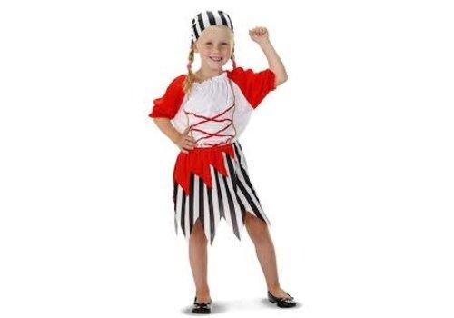 Piratenpakje meisje (3-5 jaar)