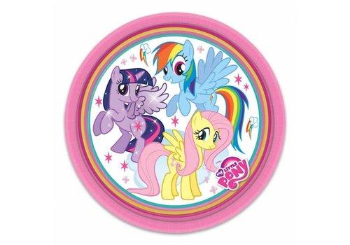 Gebakbordjes My Little Pony (8st)
