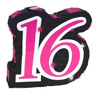 Pinata Cijfer 16 (Sweet 16)