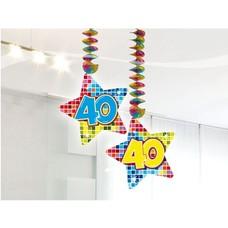 Hangdecoratie 40 jaar