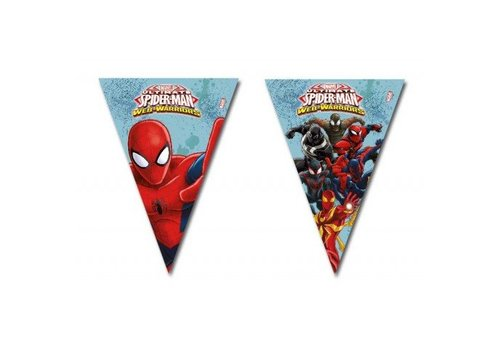 Vlaggenlijn Spiderman 2,3mtr