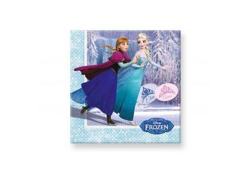 Servetten Frozen 20st