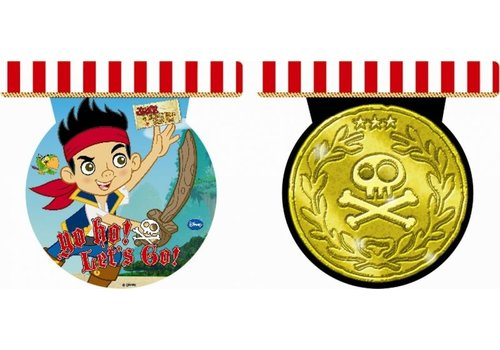 Vlaggenlijn Jake en de Nooitgedachtland Piraten (2,3mtr) OP=OP