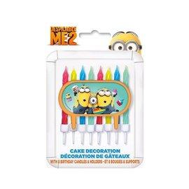 Minions verjaardagskaarsjes